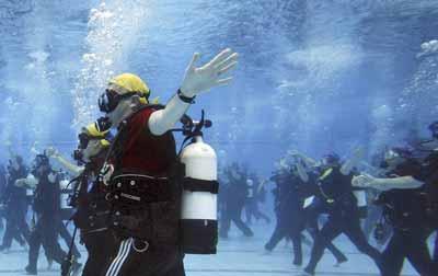 ورزش در آب برای بیماران ام اس