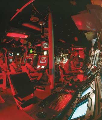 مرکز کنترل ناو saar5