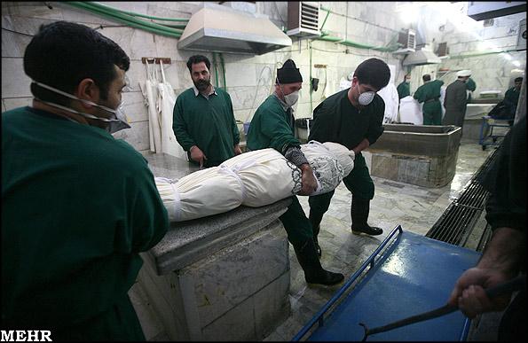 از غسالخانه تا قبرستان -عکس