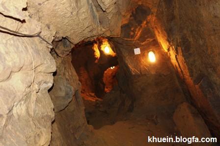 تصاویر شگفت انگیز از یک شهر زیرزمینی تمام سنگی! www.TAFRIHI.com