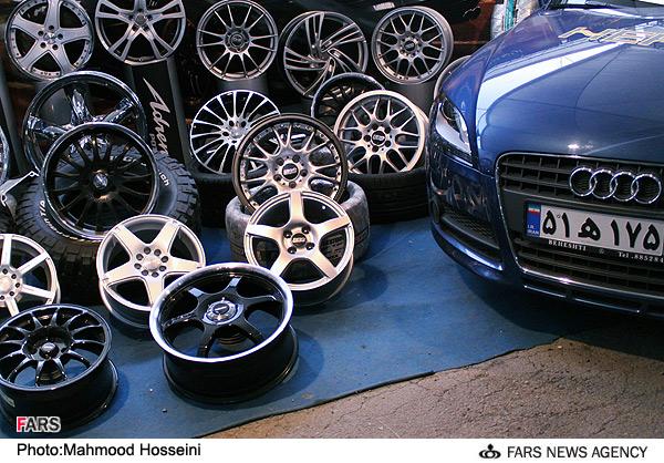 عکسهایی از نمایشگاه خودروهای لوكس در تهران