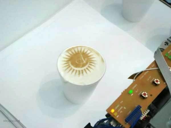 چاپ (پرینت) روی قهوه