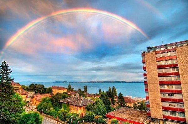 18 رنگین کمان زیبا در اطراف دنیا
