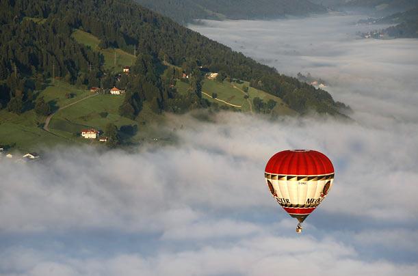 یک بالن در آسمان در جنوب آلمان | www.bia2marja.mihanblog.com