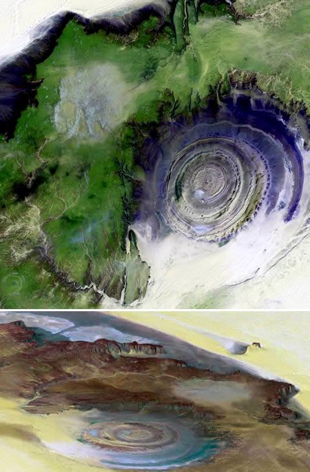 10 نقطه حیرت انگیز زمین + عکس