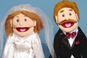 عروس و دامادی که همه چیزشان شبیه است!