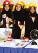 واکنش های جالب مردم عربستان به آموزش زنان آتش نشان در این کشور