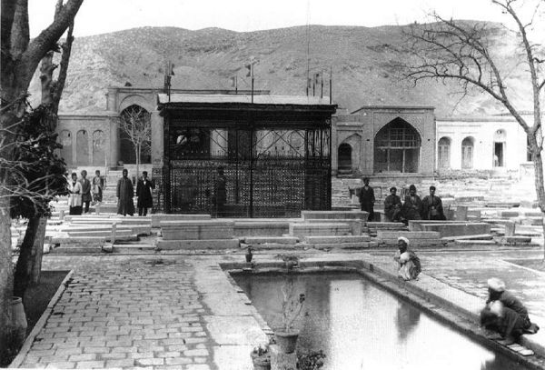 تصاویری از شیراز در 100 سال پیش