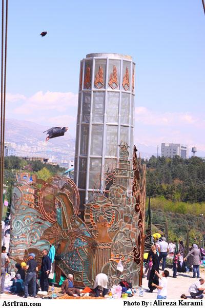 تصاویر: سیزده بدر امسال در ایران www.TAFRIHI.com