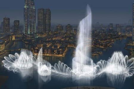 بزرگترین فواره در حال ساخت در دبی (تصویری) www.TAFRIHI.com