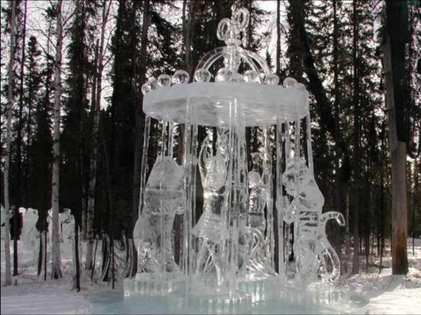 تصاویری از جشنواره یخ آلاسکا