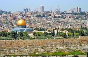 بیت المقدس و باغ ها و برج های اطراف(عکس)