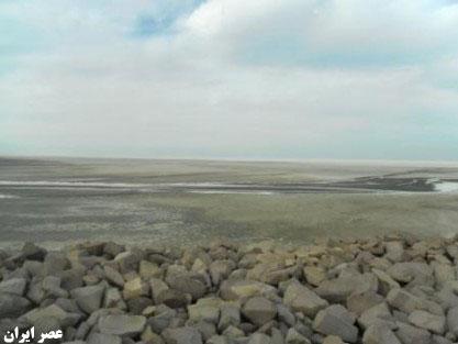 آخرین وضعیت دریاچه ارومیه به روایت تصویر