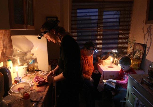 قطع برق در روسیه