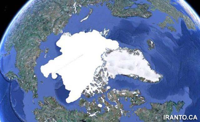 قطب شمال زمستان 2010