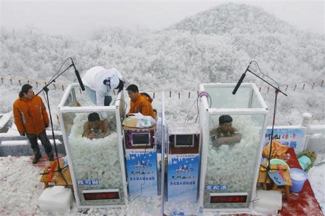 استقامت در یخ