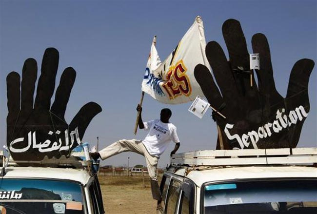 کارناوال اعتراضی یک سودانی