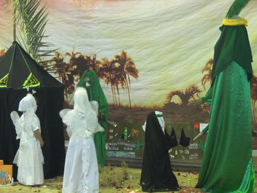 بزرگداشت شهادت حضرت رقیه در شهرستان شوش