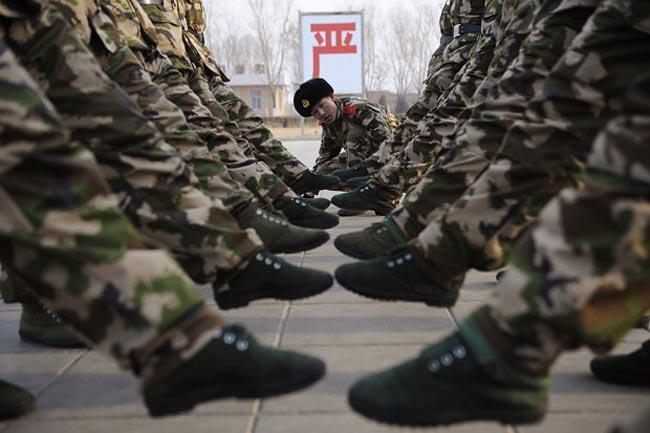 سربازان ارتش چين