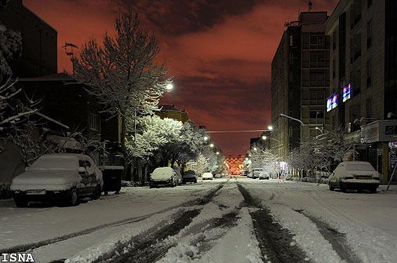 بامداد زمستانی تهران
