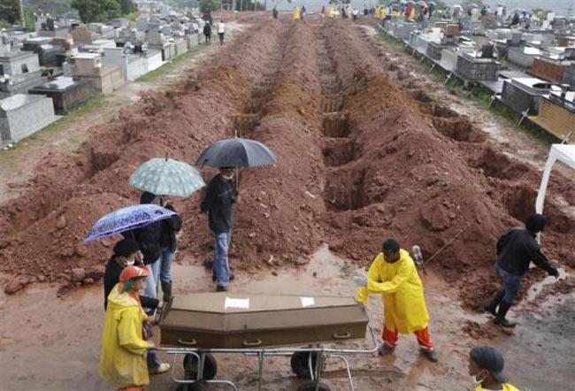 قربانیان رانش زمین در برزیل