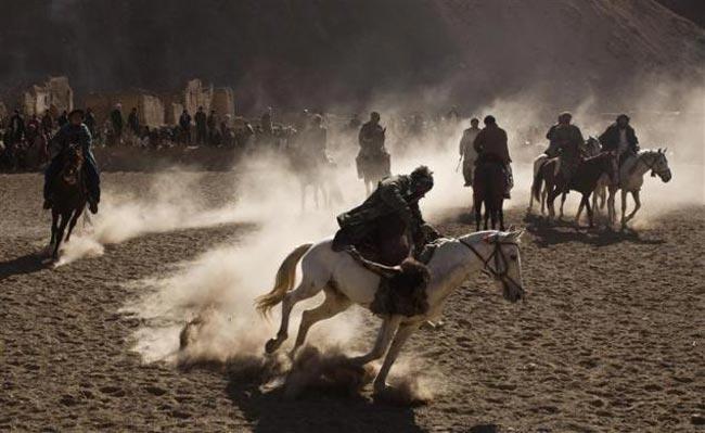 بازی سنتی بزكاشی افغان ها