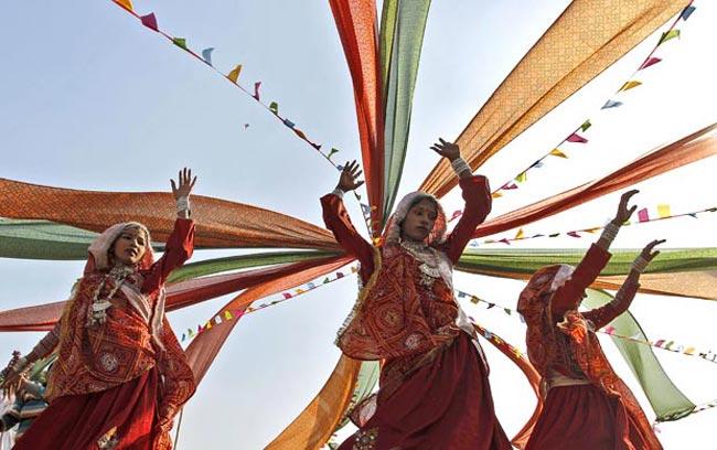 فستیوال آیینی در دهلی نو