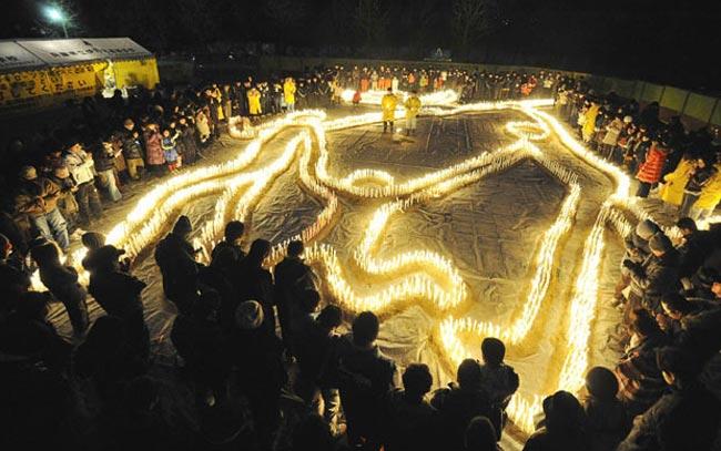 گرامیداشت 6 هزار قربانی زلزله  ژاپن