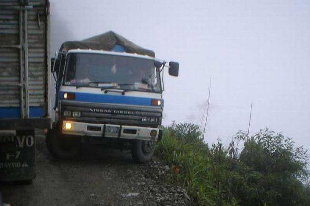 خطرناک ترین جاده جهان    www.fogholade.mahtarin.com