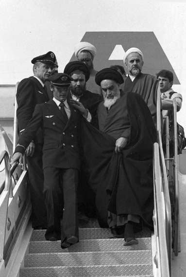 عکس های ورود امام خمینی به ایران