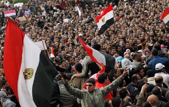 کاردستی بچه 5 ساله قیام مردم مصر به روایت فارین پالیسی 4 (تصویری)