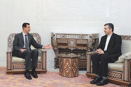 مشایی و بشار اسد