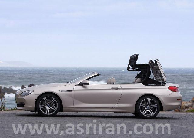 عکس, تصویر, عکسهای ماشین بی ام و سری6 BMW 6 Series Convertible