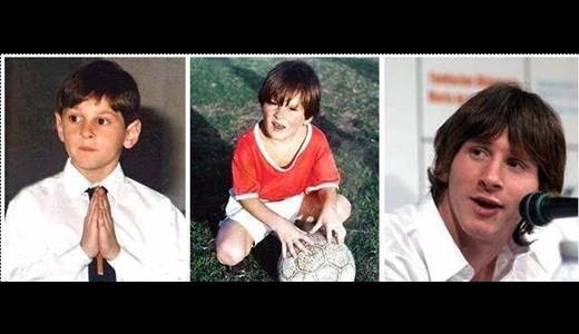 عکس کودکی فوتبالیست های مشهور