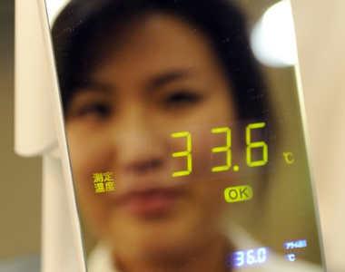 آینه دما سنجی