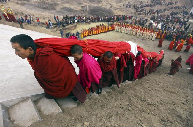 راهبان بودایی