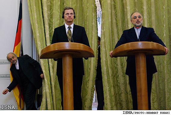کنفرانس مطبوعاتی وزیران خارجه ایران و آلمان
