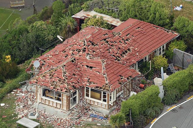 زلزله نيوزيلند