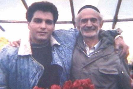 عکس قدیمی از مهران مدیری و مرحوم ملک مطیعی