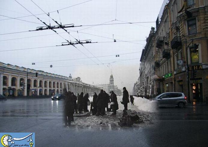 ابتکار گرافیکی برای جاودان کردن تاریخ جنگ جهانی دوم + عکس www.TAFRIHI.com