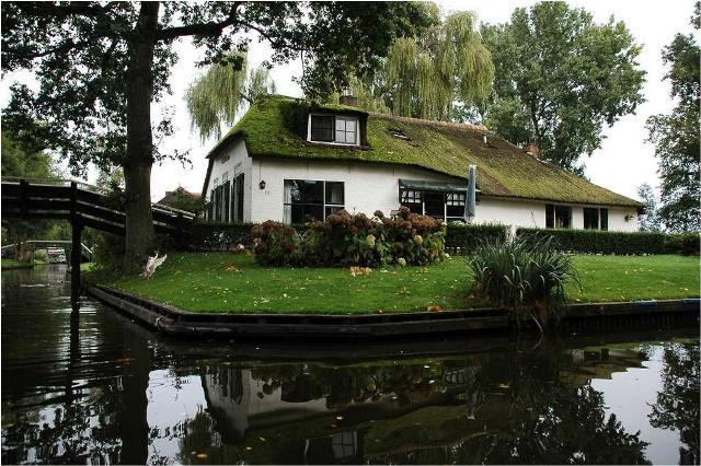 دهکدهای در هلند بدون خیابان و ماشین (تصویری)