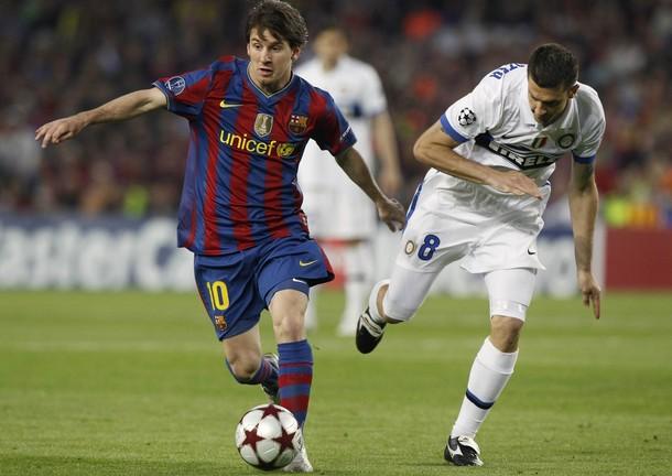 بارسلونا یک - اینتر میلان صفر (گزارش تصویری)