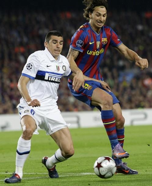 بارسلونا یک - اینتر میلان صفر (گزارش تصویری) www.TAFRIHI.com  Sport