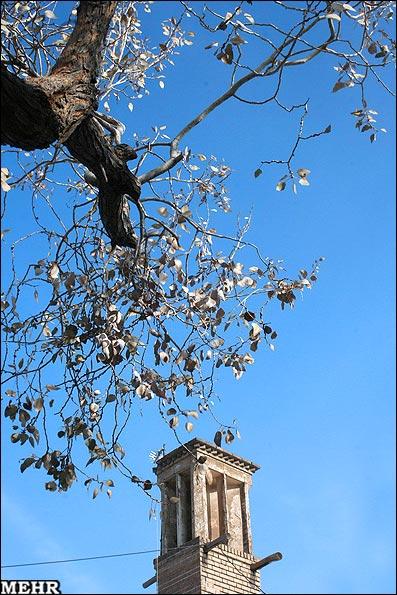 عکسهای بادگیرهای فراموش شده قم