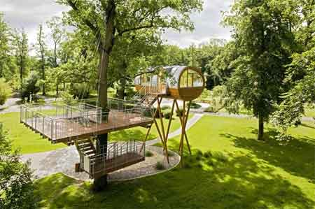 خانه های درختی زیبا و دیدنی (تصویری)