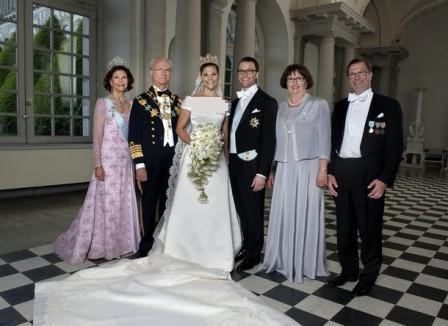 ازدواج ملکه آینده سوئد (+ عکس)  - takmahfel.com