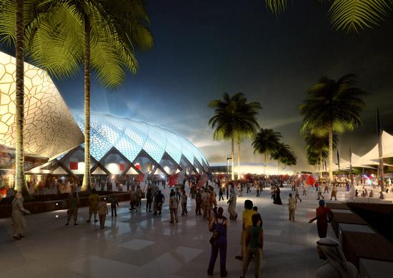 عکس :دبی برای جام جهانی 2022 آماده می شود www.TAFRIHI.com
