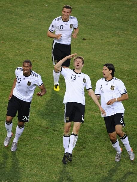 آلمان 4 - انگلستان 1 (گزارش تصویری) www.TAFRIHI.com جام جهانی 2010