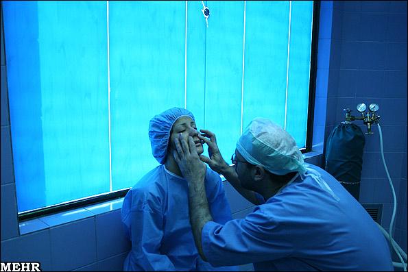 عکس: جراحی زیبایی بینی