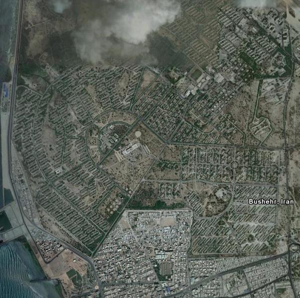 تصاویر ماهواره ای از استان بوشهر www.TAFRIHI.com